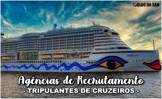 Agências brasileiras que recrutam para trabalho em navios de cruzeiros