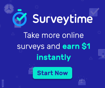 Surveytime - Take Online Surveys and Earn USD 1 Instantly