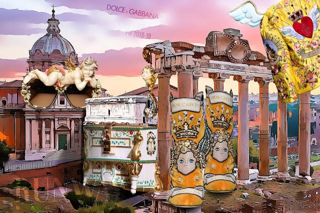 Dolce Gabbana Fall Winter fashion devotion by RUNWAY MAGAZINE