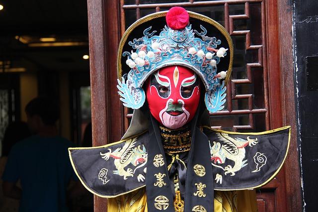 Sichuan Opera, Chengdu cultural park, Places to see in Chengdu, Buddha Statue, Buddha Template, China, Chengdu,