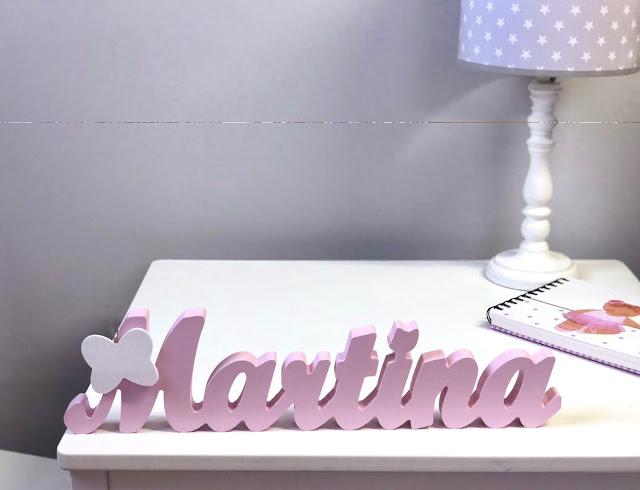 Nombres infantiles para decorar -letras decorativas