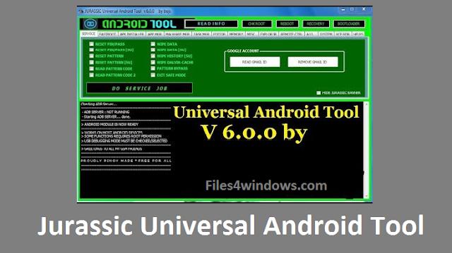 Jurassic-Universal-Android-Tool