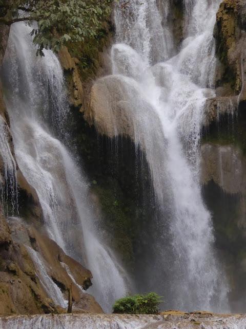 Waterfall in Laos..