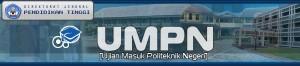 UJIAN MASUK POLITEKNIK JALUR UMPN 2016
