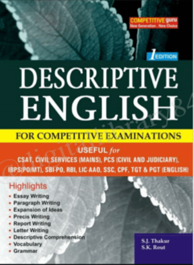 Descriptive-English-For-All-Competitive-Exam-PDF-Book