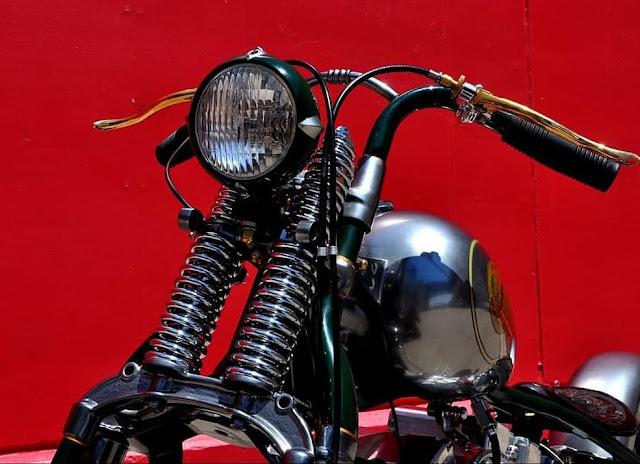 Harley Davidson Shovelhead By Greasy Bobber Speed Shop Hell Kustom