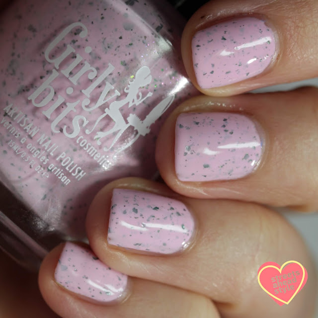 Girly Bits Blossom Sauce swatch by Streets Ahead Style