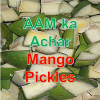 Cubes of Mango for preparation of the Mango Pickle, AAM ka Achar.