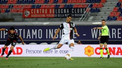 Juventus Vs Bologna 2:0, Fiorentina vs Brescia 1:1, Lecce vs AC Milan 1:4