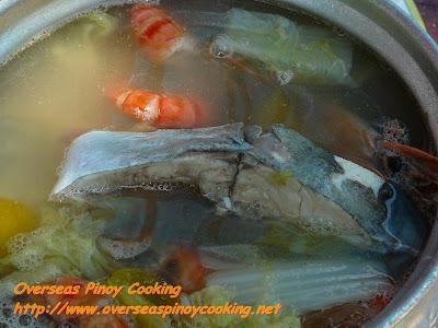 Towa - Fish and Shrimp Soup Lunch at Balicasag