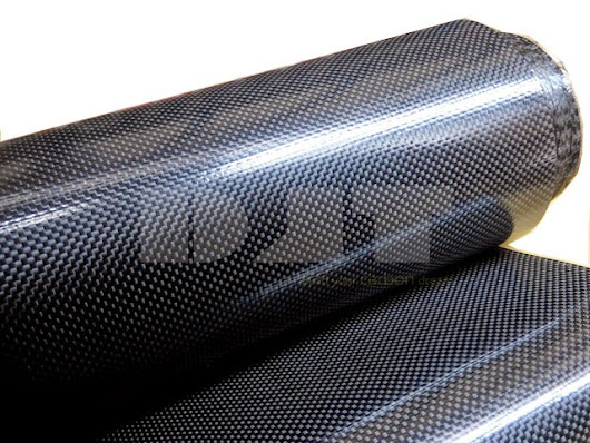 Soft Carbon Fiber Cloth Coated with TPU film