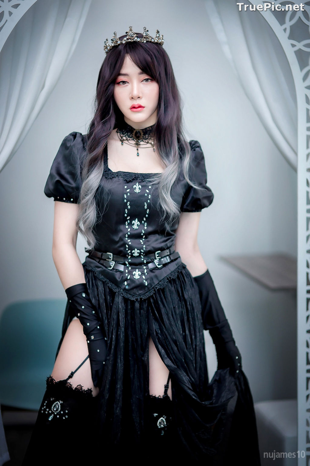 Image Thailand Model - Anchalee Wangwan - Black Princess - TruePic.net - Picture-4