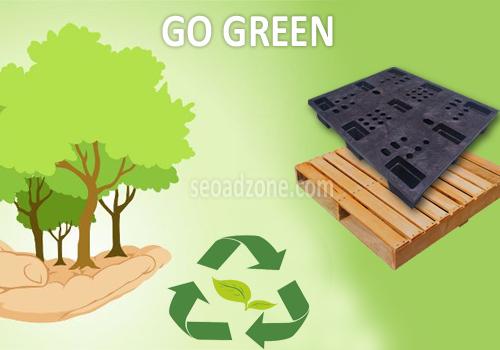 go green dengan daur ulang pallet