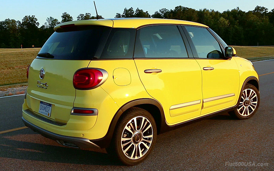 2018 Fiat 500l Model Year Changes Fiat 500 Usa