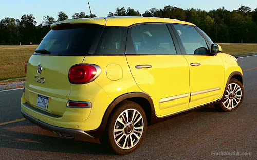 2018 Fiat 500L Trekking USA Version