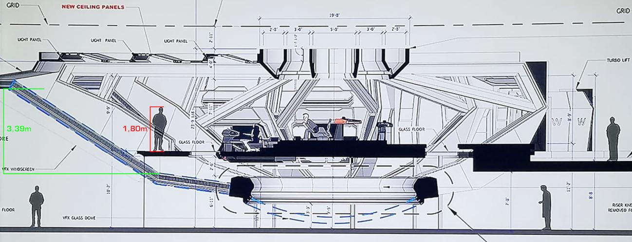 FLEETYARD STAR TREK modeling blog: The size of the U.S.S ...