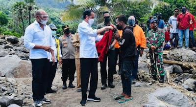 IMG 20210409 134059 Kunjungi Lembata, Presiden Jokowi Pastikan Kebutuhan para Pengungsi Tercukupi