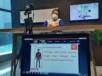 Lewat Webinar berikan tips Safety Riding Cari_Aman Di Hari Valentine Diikuti 100 Peserta.