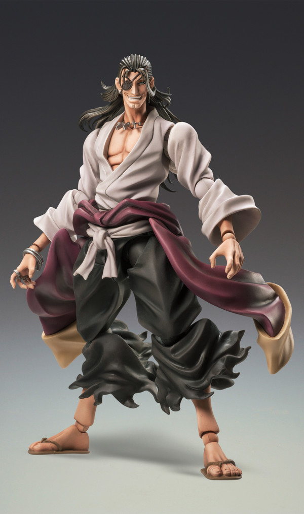 Medicos TV Anime Drifters Nobunaga Oda Figure Super Action Statue