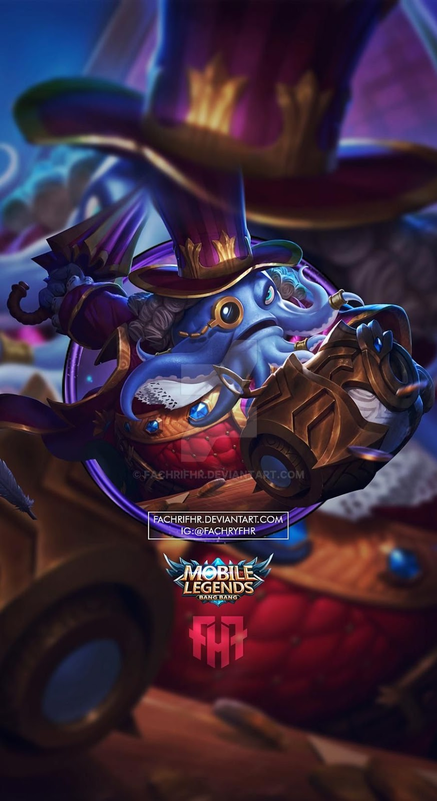 Wallpaper Bane Count Dracula Mobile Legends Full HD for Android and iOS