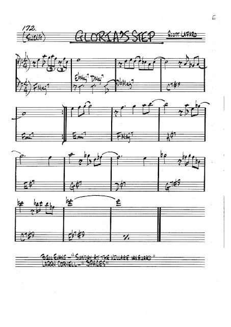 Partitura Trombón Scott Lafard