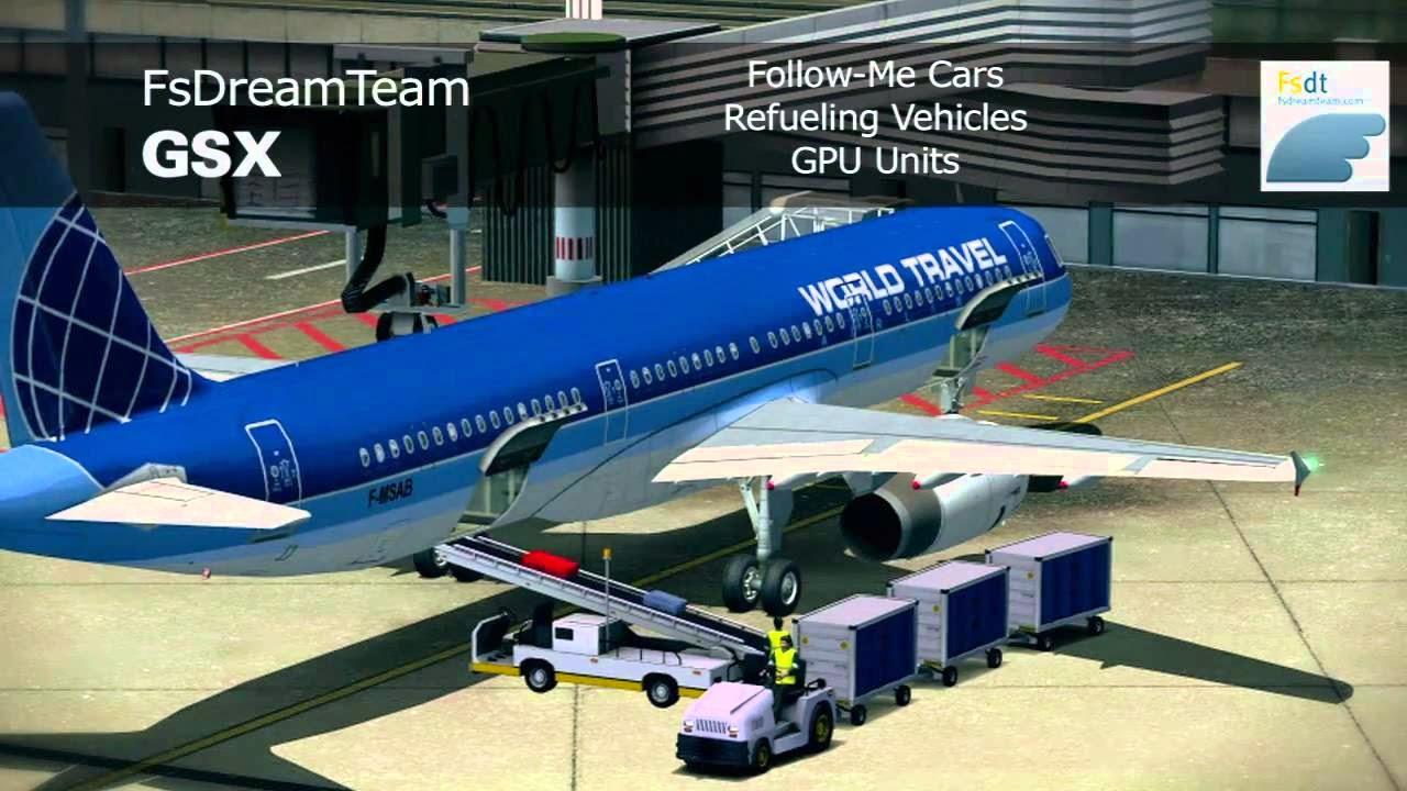 Accesorios para Simuladores de Vuelo: GSX Ground Services