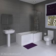 l shaped bath suites uk