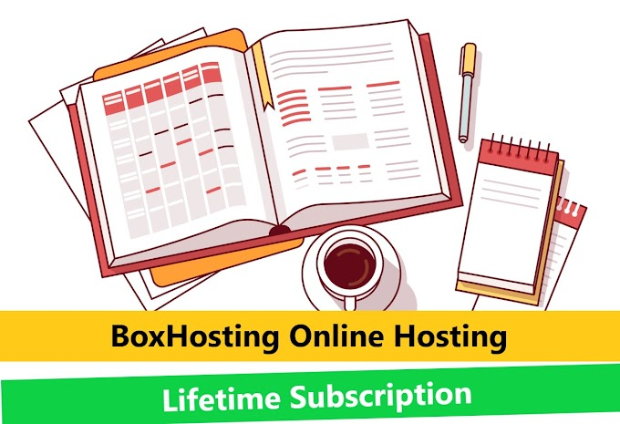 $45 BoxHosting Online Hosting Lifetime Subscription