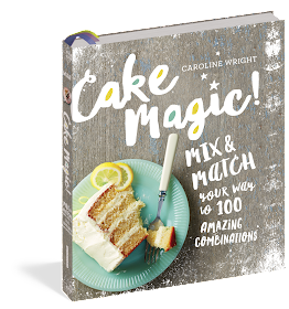 Cake Magic! Cookbook by Caroline Wright review and recipe for Fresh Blueberry Cake from Renee's Kitchen Adventures