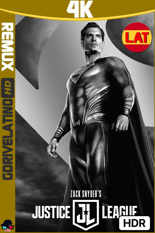 La Liga de la Justicia de Zack Snyder (2021) BDRemux 4K HDR Latino-Ingles MKV