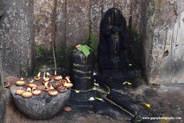 Shivalinga at Akhandalamani Temple