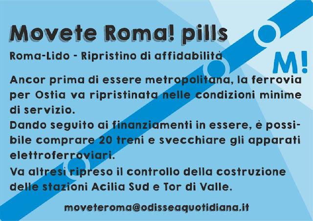Movète Roma Pillola, numero 10: La Roma-Lido