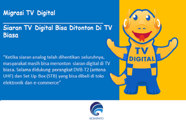 cara menonton siaran digital di tv analog