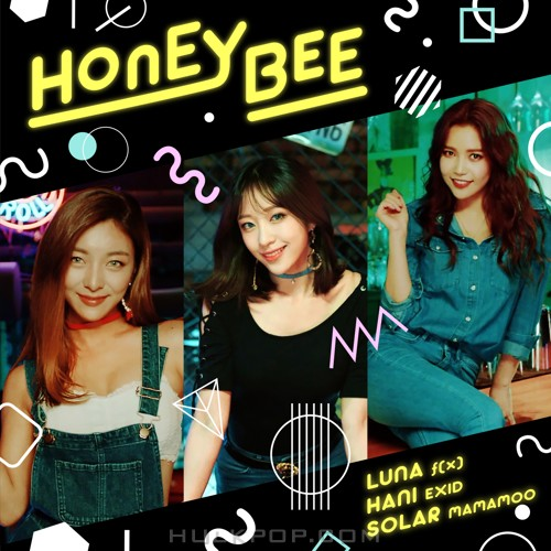 LUNA, HANI (EXID), SOLAR (MAMAMOO) – HONEY BEE – Single