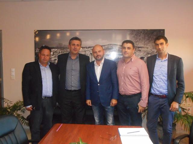 Συνάντηση Δημάρχου Αρταίων με τον Πρόεδρο του ΤΕΕ Γ. Στασινό
