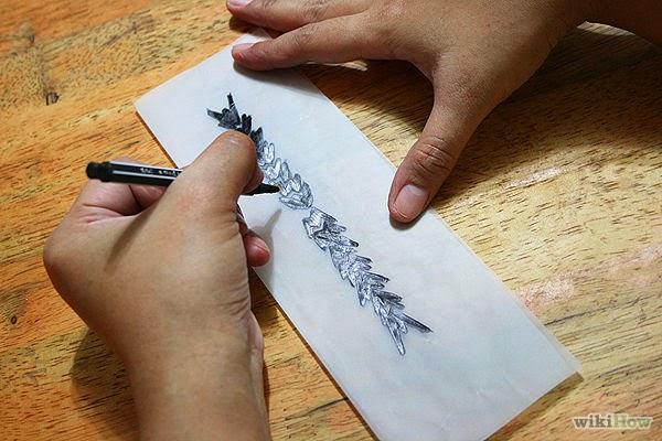 la reines blog sommertrends kleine tattoos tempor r. Black Bedroom Furniture Sets. Home Design Ideas