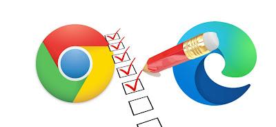 مقارنة بين متصفحي جوجل كروم Google Chrome و متصفح مايكروسوفت إيدج Microsoft Edge أيهما أفضل متصفح جوجل كروم Google Chrome أو متصفح مايكروسوفت إيدج Microsoft Edge