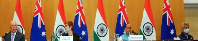 India, Australia Call For Inclusive Government For Stability In Afghanistan
