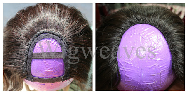 U-Part Wig Virgin Indian Hair by Royal Remy Hair Co.