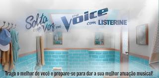 Promoção Listerine 2017 The Voice Solte Essa Voz