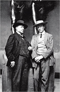 Henry James and Hendrik Anderson c.1907