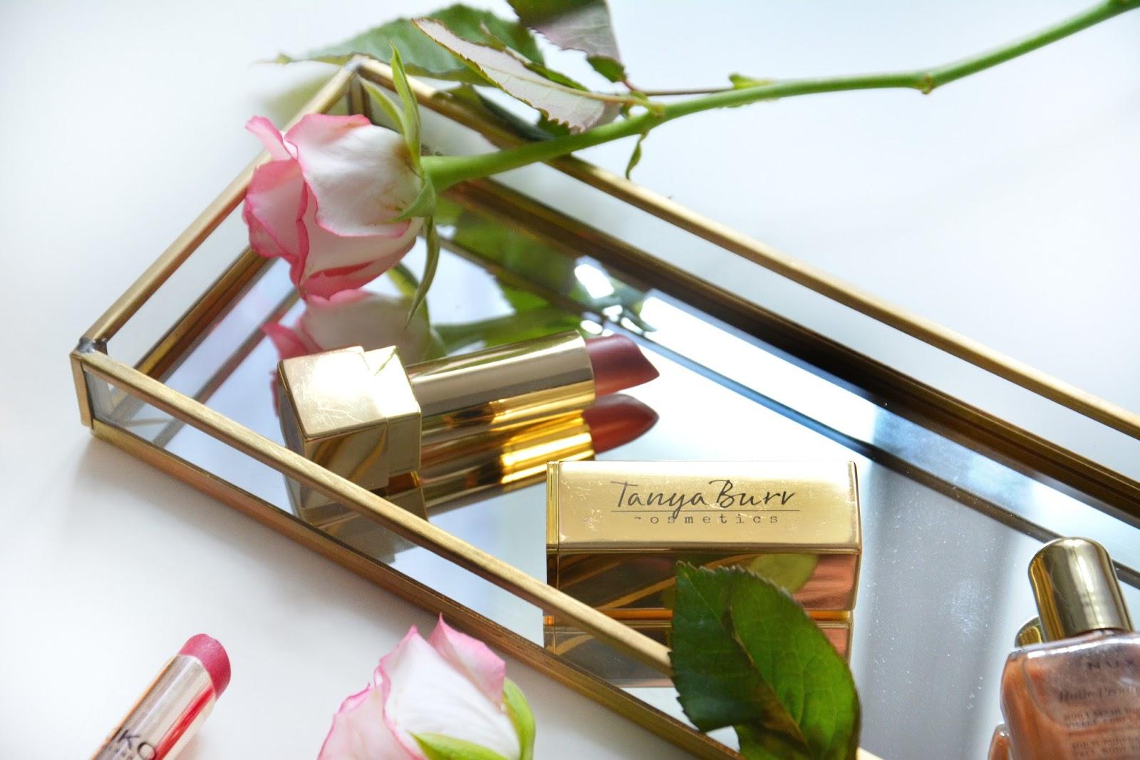 Tanya Burr Lipstick; Kiko Lipstick; Nuxe Oil; Fresh Pink Roses