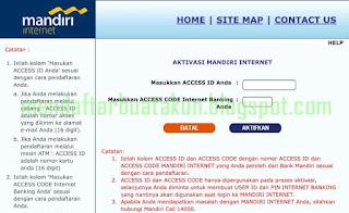 Cara Daftar Internet Banking Mandiri Secara Online