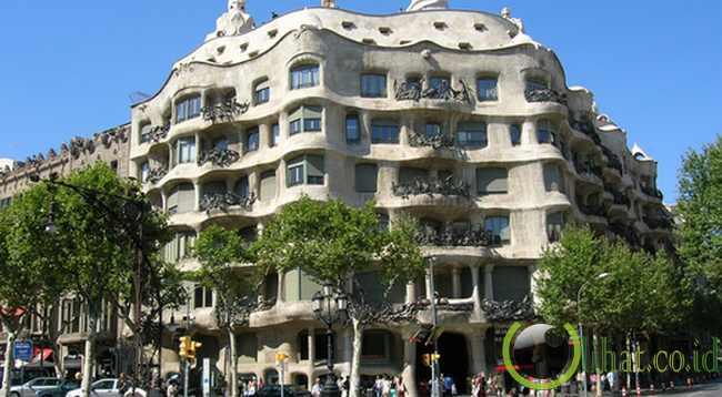 Casa Batllo (Barcelona, Spanyol)