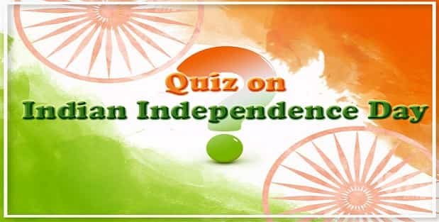 Indian Independence Day GK Quiz National Flag of India