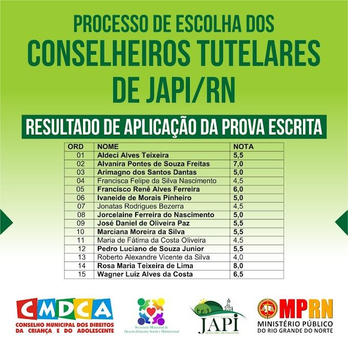 Processo de escolha dos Conselheiros Tutelares de Japi-RN