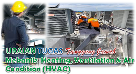 Tugas Mekanik Heating, Ventilation & Air Condition (HVAC)