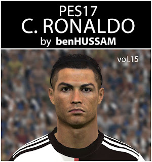 PES 2017 Faces Cristiano Ronaldo by BenHussam