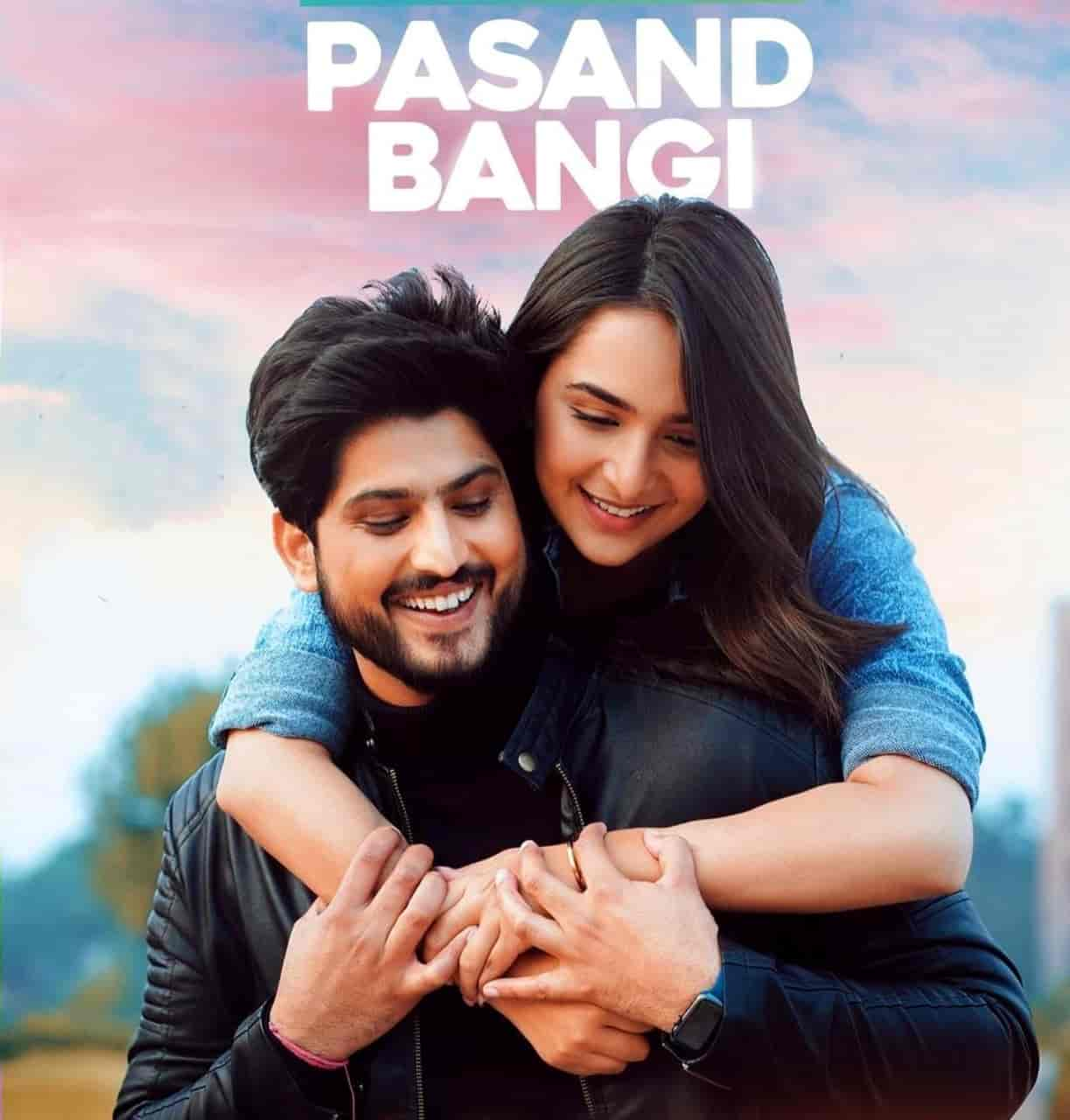 Pasand Bangi Punjabi Song Image Features Gurnam Bhullar