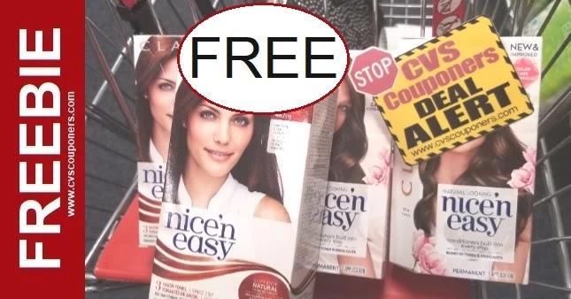 FREE Clairol Hair Color CVS Deals 6-20-6-26